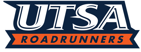 The UTSA Roadrunners logo.