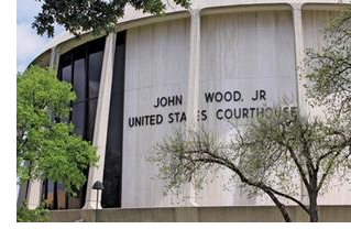 The current US Courthouse in San Antonio: the John Wood Jr. United States Courthouse, which will be replaced by the new facility.