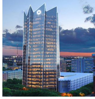 Frost Tower in San Antonio.