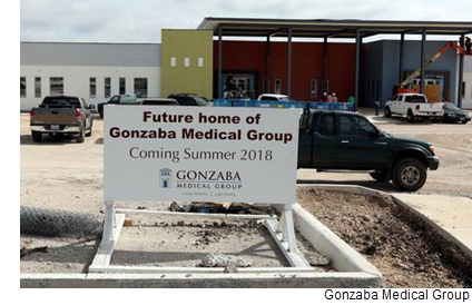 Future home of Gonzaba Medical Group, Coming Summer 2018 to Northwest San Antonio.