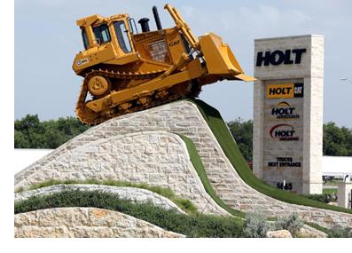 Holt Cat's new HQ