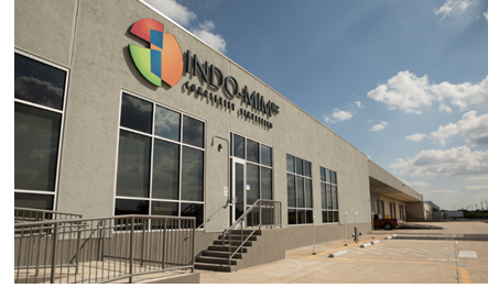 Indo-MIM's facility in San Antonio.