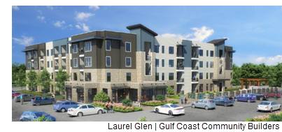 Laurel Glen, at 11107 W. Loop 1604 N., will be a 94,000-square-foot, 81-unit, four-story apartment complex.