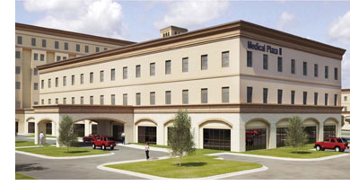 A rendering of the Medical Plaza II building, one of the three San Antonio properties sold as part of this portfolio.