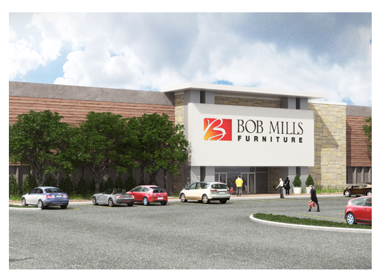 Bob Mills Furniture Store has leased in San Antonio to expand into the South.