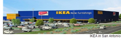 IKEA closed on its plot in Live Oak on Dec. 5, according to deeds records, and construction of its future 300,000-square-foot store is scheduled to begin in March.