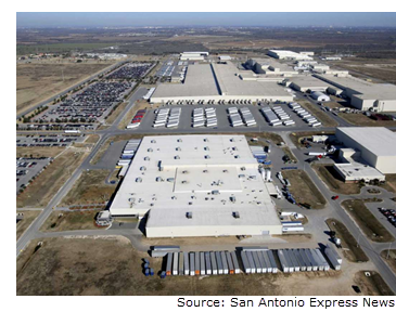 Toyota is investing $391M in its Toyota Motor Manufacturing Texas Inc. production plant.