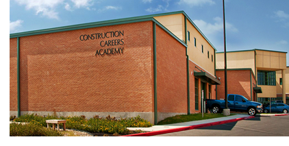 Pictured: the Construction Careers Academy in West San Antonio.