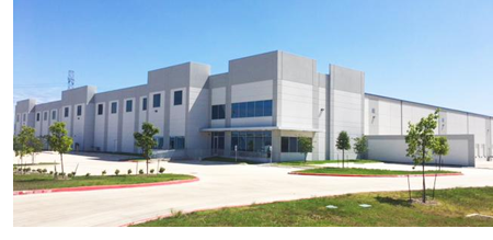 The distribution center, located at 9850 Doerr Ln. in Schertz, Texas.