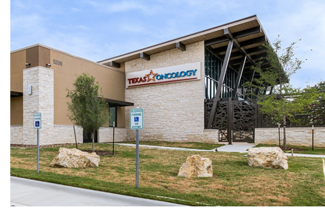 The completed Texas Oncology facility in northwest San Antonio.
