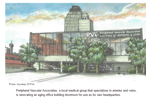 San Antonio vasular medical practice new headquarters