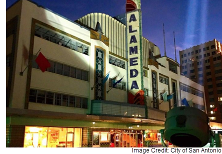 The Alameda Theater in Downtown San Antonio.