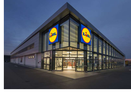 A Lidl store.