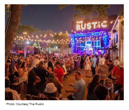 The Rustic is opening their second location in San Antonio and will open in September 2017.