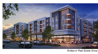 Rendering of the Lyndon in San Marcos