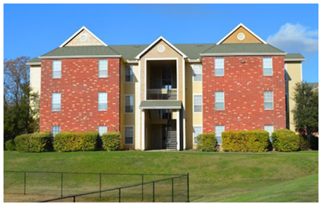 Apartment building in the Reserve complex