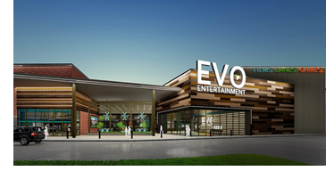 Rendering of EVO Entertainment.