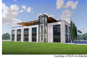 Rendering of Lynd headquarters