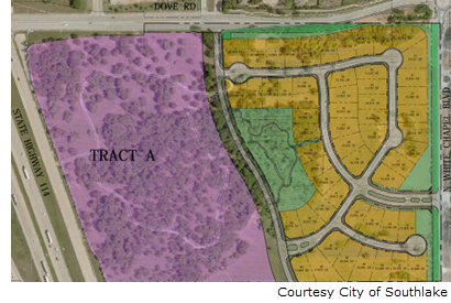 site location of Metairie residential development