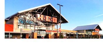 The fuel station at the new H-E-B Market at 5251 FM 2920 is open.