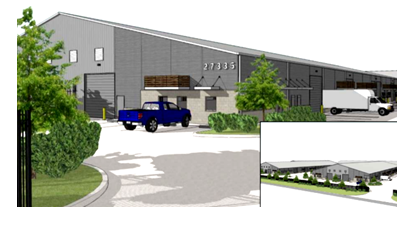 RYOAK Real Estate Group plans to complete the first building in Old Town Spring Business Park in late 2018.