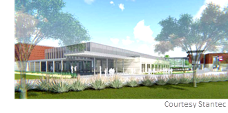Spring ISD unveiled the design for the new middle school it plans to build.