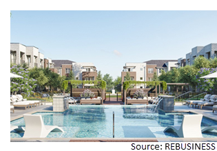 Ventures Development and Batson Cook's new apartment project at Crossroads at Terrell