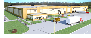 DLA Distribution Red River will break ground on a 240,000-sf general purpose warehouse.