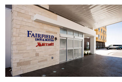 Fairfield Inn and Suites entrance