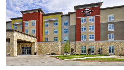 Homewood Suites by Hilton in Tyler, Texas, which was part of the portfolio sold.