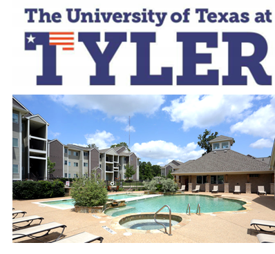 "UT Tyler has settled on a new logo that fuses the letter ""T"" with the United States and Texas flags."