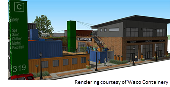 Rendering of The Containery
