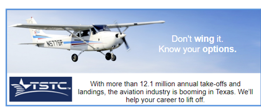 TSTC aviation programs