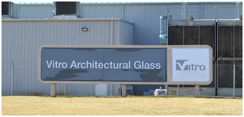 Vitro Glass Sign