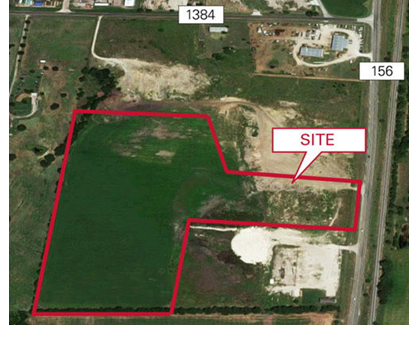 Image of the 25 acres purchased