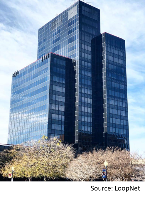 The Plaza Tower in downtown Tyler