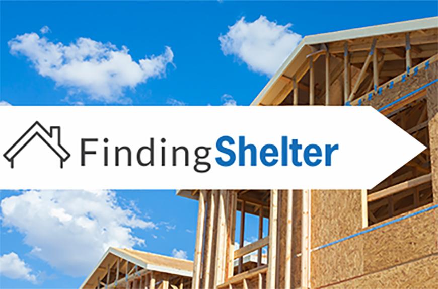 Finding Shelter hero image